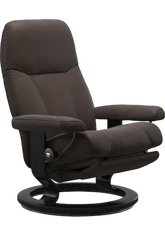 Stressless® Relaxsessel »Consul«, mit Classic Base und Power™, elektrisch verstellbar, optional 2-motorisch, Größe M & L, Gestell Schwarz kaufen