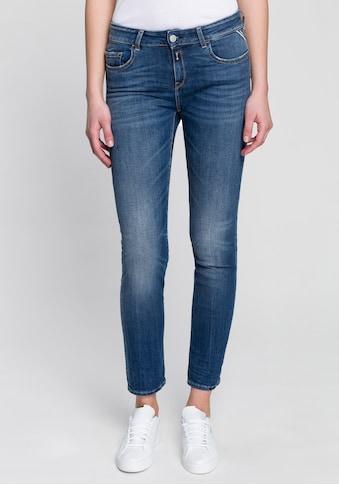 Replay Straight-Jeans, 5-Pocket-Style in dezenter Used-Optik kaufen