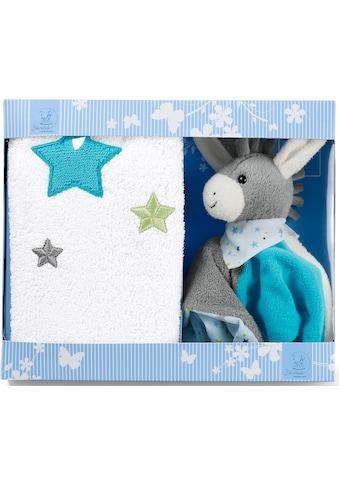 Sterntaler® Schmusetuch »Erik«, mit Kinderhandtuch kaufen