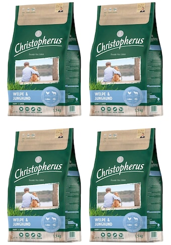 Christopherus Trockenfutter »Welpe - Junghund«, (4), 4 Beutel á 1,5 kg kaufen
