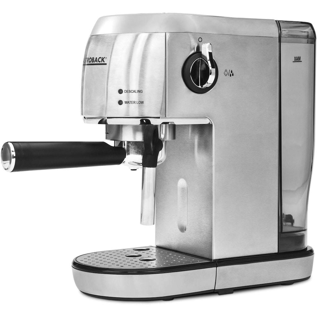 Gastroback Espressomaschine »42716 Design Espresso Piccolo«