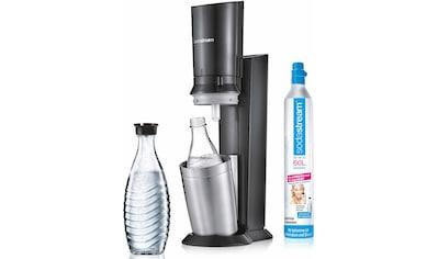 """SodaStream Wassersprudler """"Crystal 2.0"""" (1 Wassersprudler, 1 Glaskaraffe, 1 Zylinder) kaufen"""