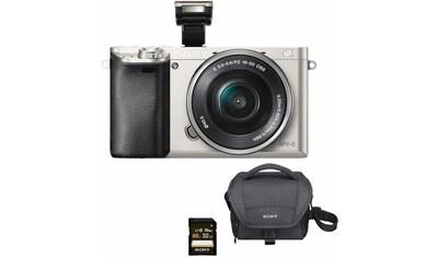 Sony Systemkamera »Alpha ILCE-6000L«, SEL-P1650, WLAN (Wi-Fi)-NFC, Gesichtserkennung,... kaufen