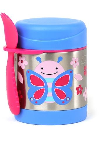 Skip Hop Thermobehälter »Zoo Edelstahl Warmhaltebehälter Schmetterling«, (2 tlg.), mit Multibesteck kaufen
