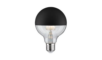 Paulmann LED-Leuchtmittel »Globe 6,5 Watt E27 Kopfspiegel Schwarz matt Warmweiß«, E27,... kaufen