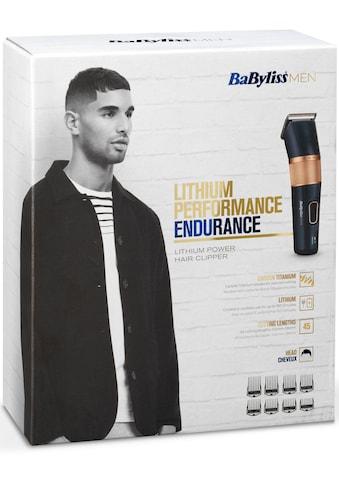 BaByliss Haarschneider »E986E«, 8 Aufsätze, langanhaltende Performance kaufen