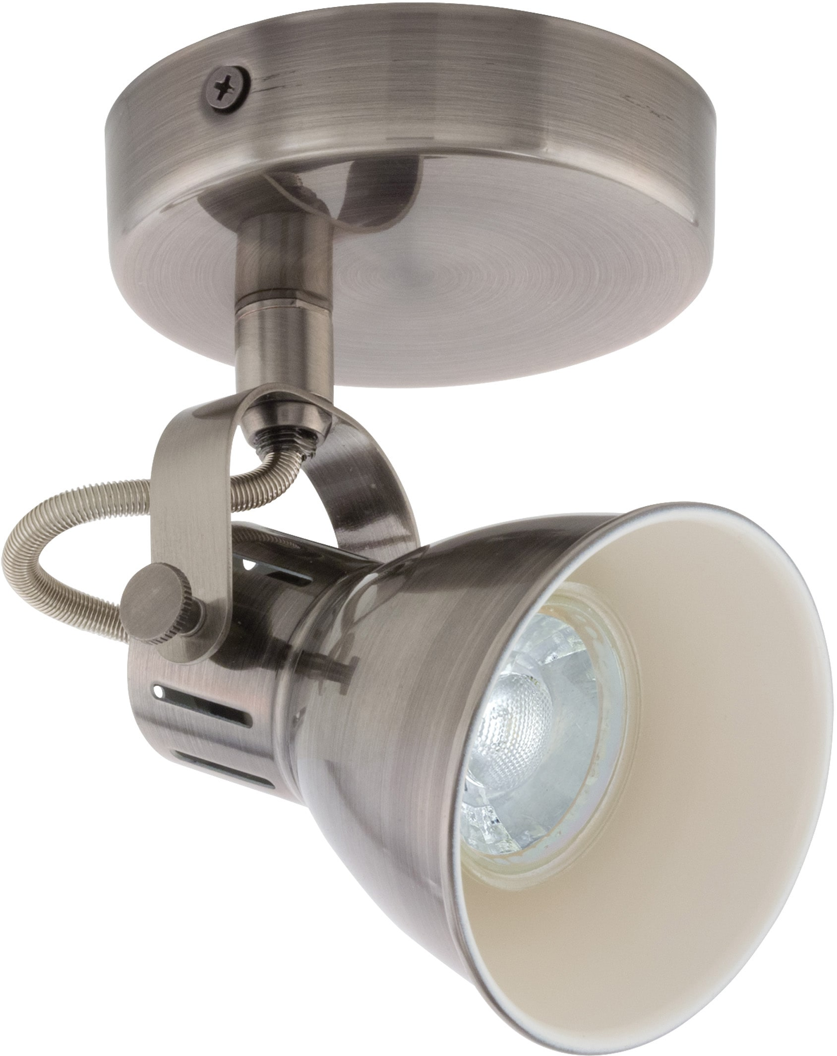 EGLO LED Wandleuchte SERAS, LED-Board-GU10, Warmweiß
