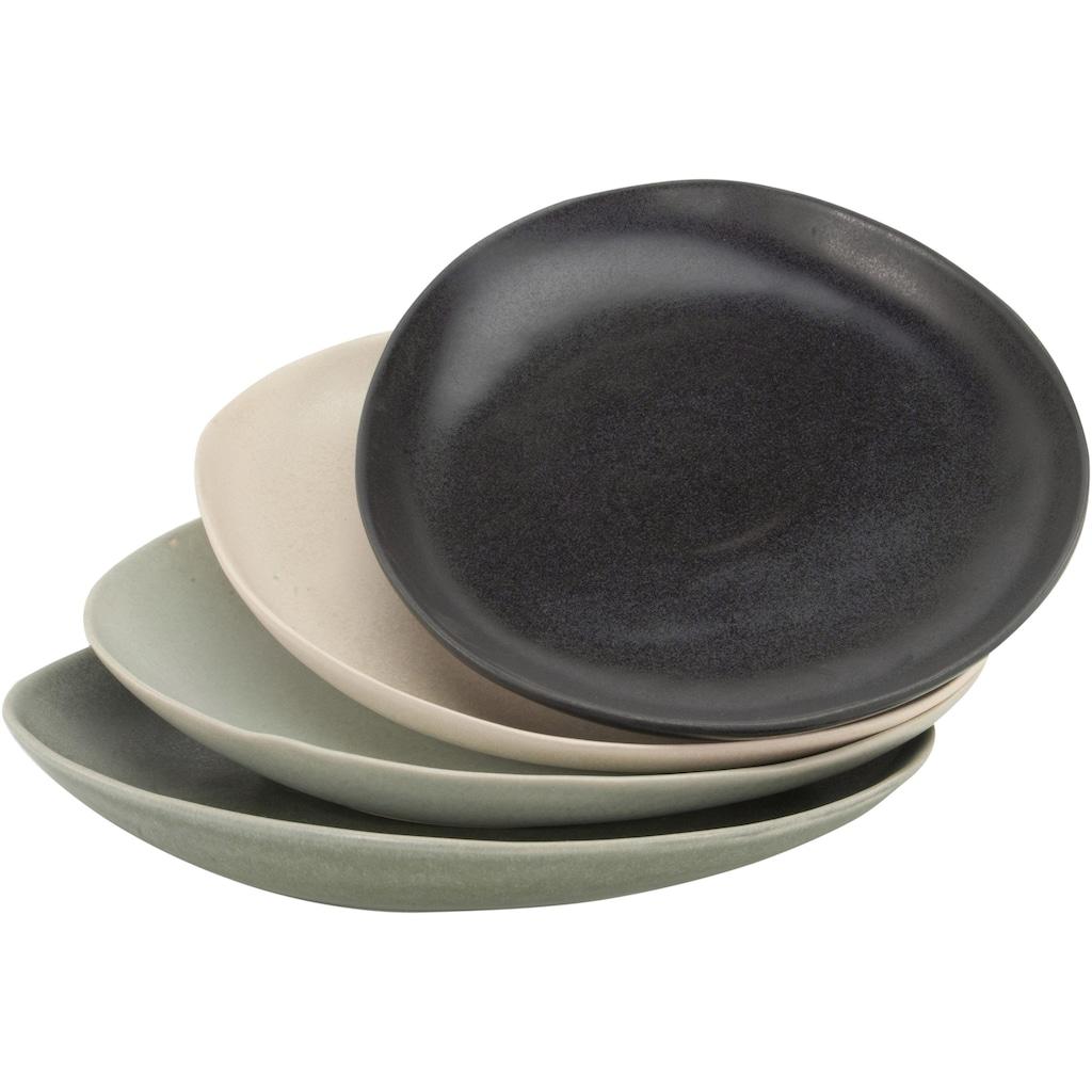 CreaTable Servierplatte »Pietra«, jedes Stück ein Unikat