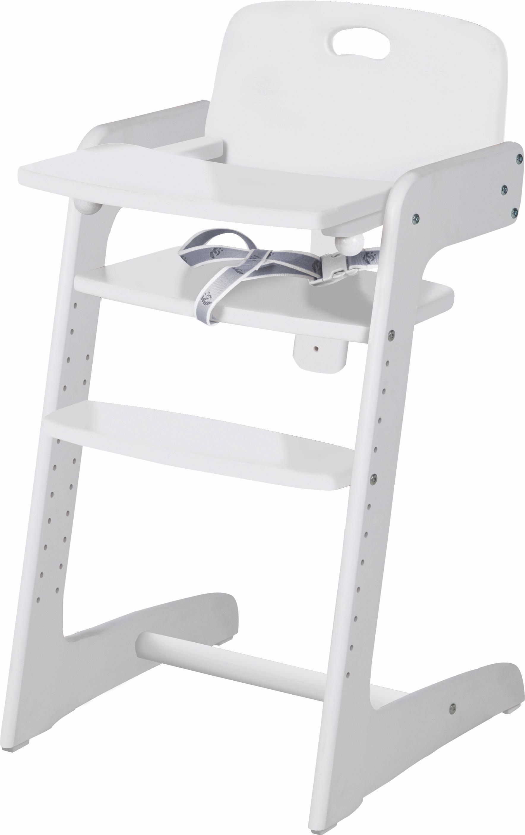 roba Hochstuhl Treppenhochstuhl, Kid Up, weiß Baby Treppenhochstühle Hochstühle Babymöbel Stühle