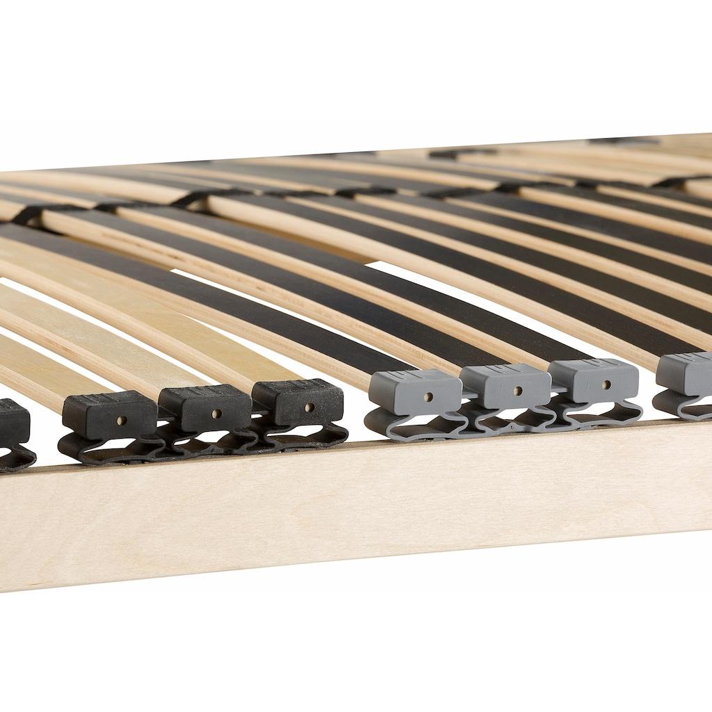 BeCo EXCLUSIV Lattenrost »Heros Fix NV«, 7 Zonen-Luxus, Härteregulierung