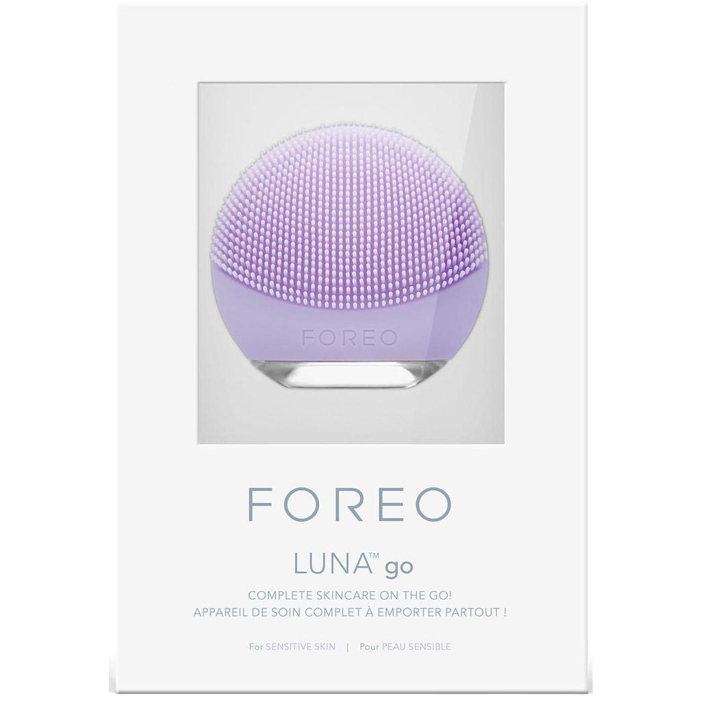 FOREO Elektrische Gesichtsreinigungsbürste »LUNA go für empfindliche Haut«