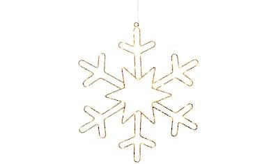 KONSTSMIDE LED Dekolicht, Extra-Warmweiß, Micro LED Goldschneeflocke, für den... kaufen
