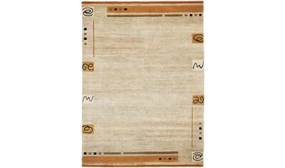 Wollteppich, »Davina Malpi«, OCI DIE TEPPICHMARKE, rechteckig, Höhe 20 mm, manuell geknüpft kaufen