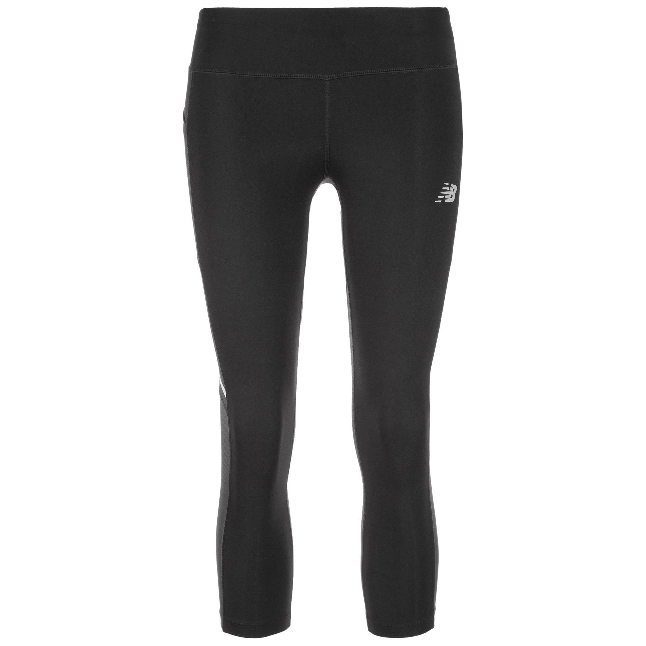 New Balance Lauftights Impact Capri   Sportbekleidung > Sporthosen > Tights   Schwarz   New Balance