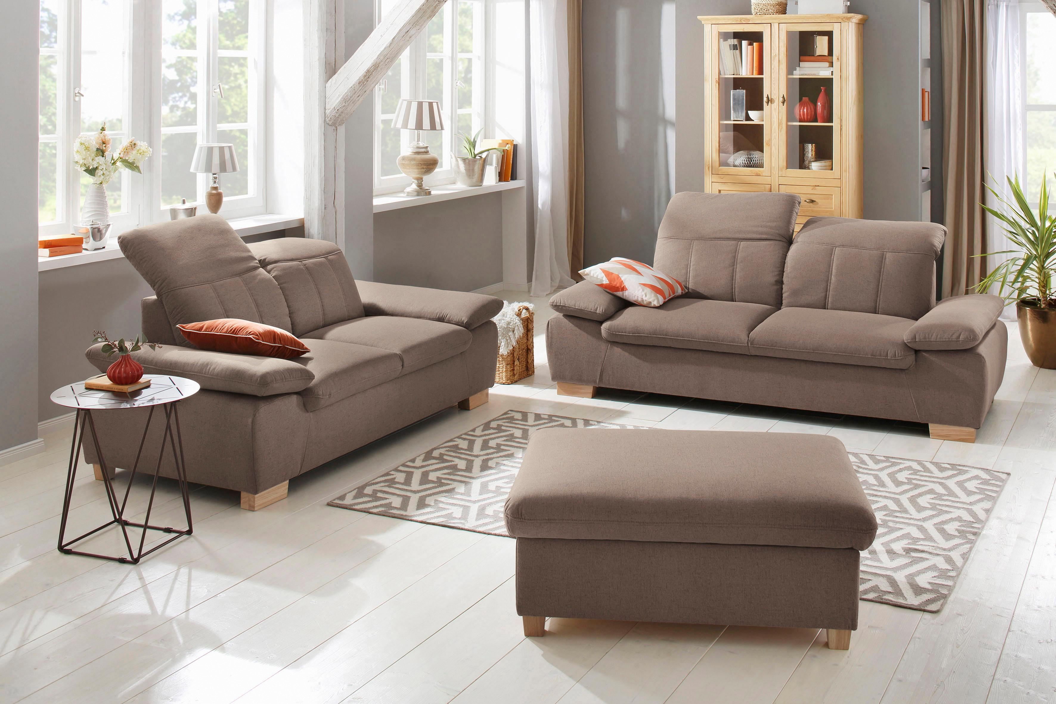 Home affaire Polstergarnitur Bergamo | Wohnzimmer > Sofas & Couches > Garnituren | home affaire