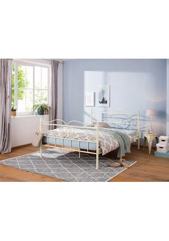 Home affaire Metallbett »Jübek«, In verschiedenen Größen und Farbvarianten... kaufen