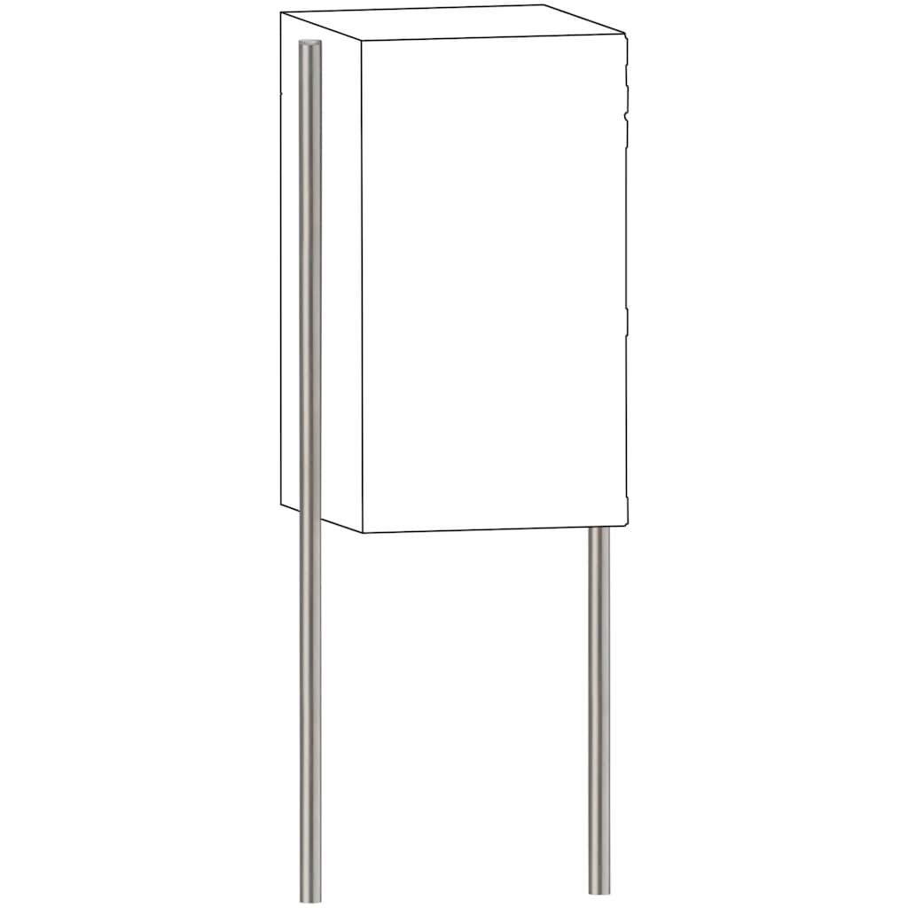 Burg Wächter Briefkasten »Universal 150 eBoxx Ni«, Ständer für Paketbox