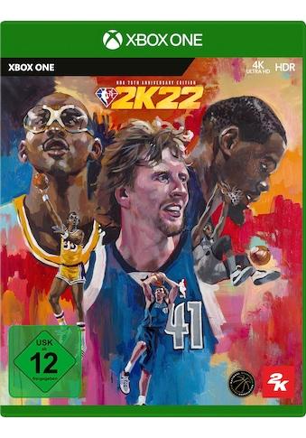 2K Sports Spiel »NBA 2K22 - 75th Anniversary Edition«, Xbox One kaufen