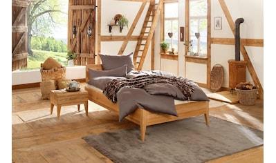 Premium collection by Home affaire Massivholzbett »MINIMUS«, aus Zirbe, 100% vegan kaufen