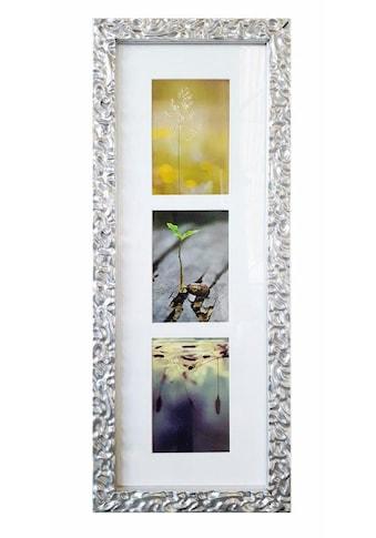 Home affaire Galerierahmen »Melbourne«, Fotorahmen für 3 oder 7 Bilder, silberfarben,... kaufen