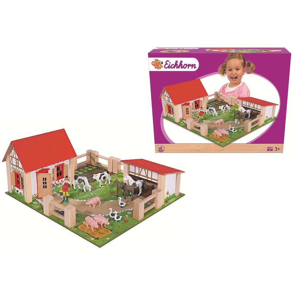 Eichhorn Spielwelt »Bauernhof klein«, Made in Europe