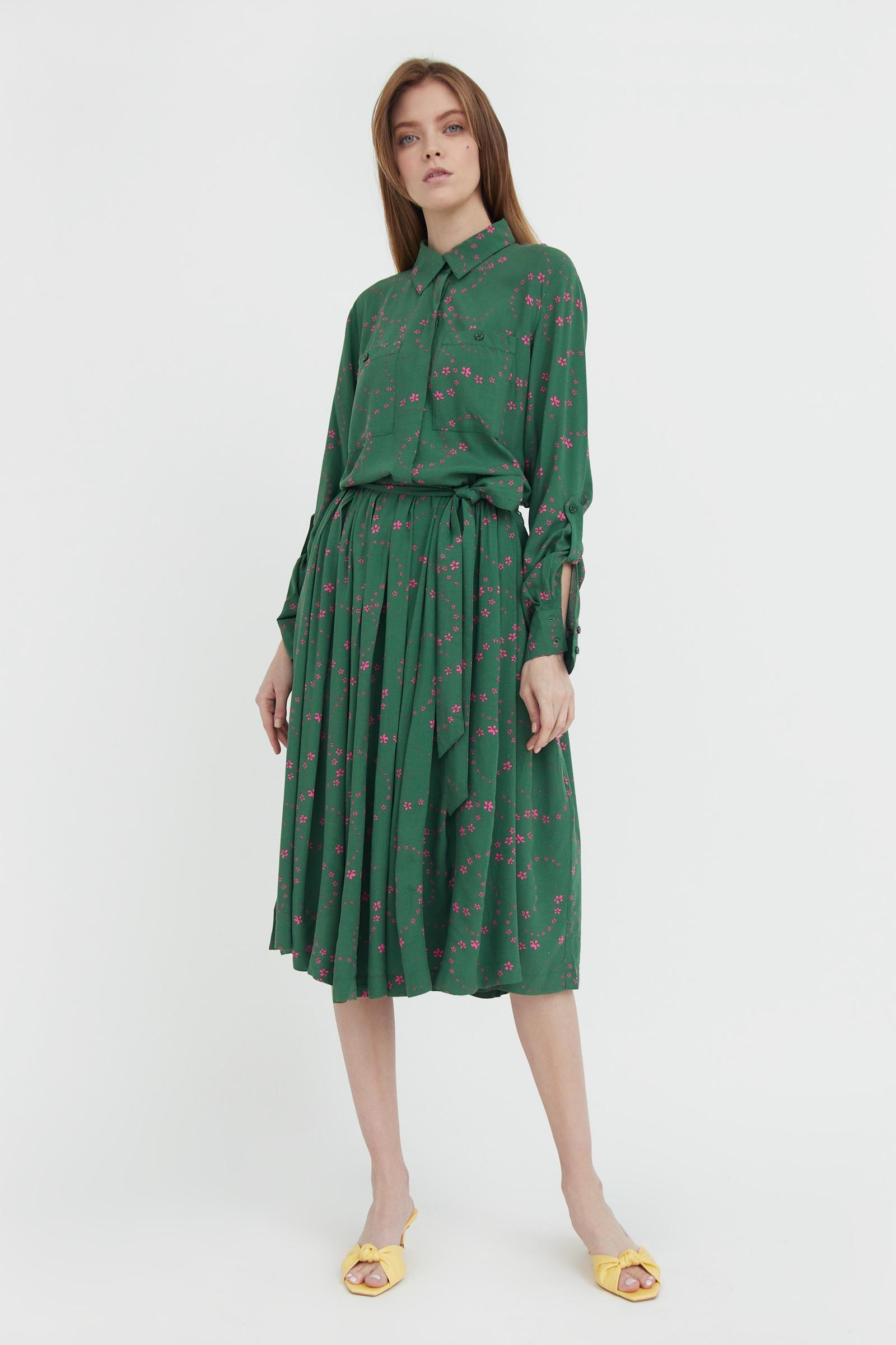 finn flare -  Jerseykleid, mit ausgestelltem Rockteil