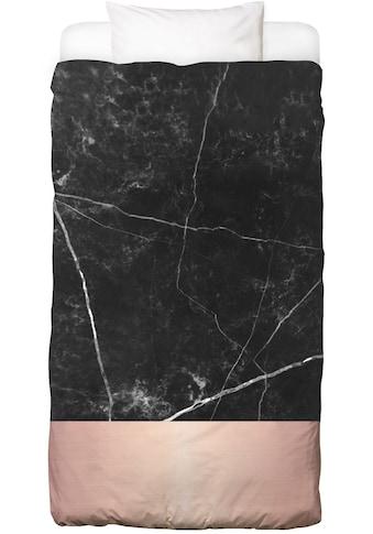 Juniqe Bettwäsche »Black Marble Pink Edition«, In vielen weiteren Designs erhältlich kaufen