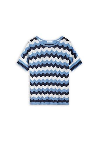 Sandwich T-Shirt mit Zickzack-Muster kaufen