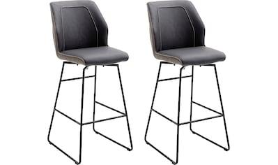 MCA furniture Barhocker »Aberdeen«, Barstuhl im Materialmix, Barstuhl bis 120 Kg... kaufen