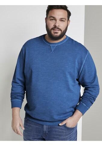 TOM TAILOR Men Plus Sweater »Schlichtes Sweatshirt« kaufen
