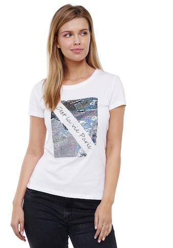 Decay T-Shirt, mit coolem Pailletten-Besatz kaufen