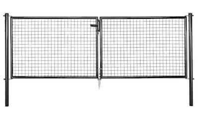 GAH Alberts Zaundoppeltür »Maschendraht«, 299 cm Breite, in versch. Höhen kaufen