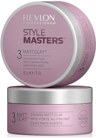 REVLON PROFESSIONAL Styling-Creme »Style Masters Strong Matt Clay«, starker Halt kaufen