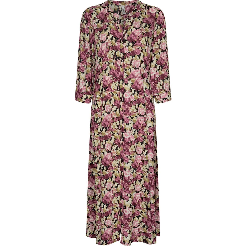 soyaconcept Blusenkleid, mit floralem All-Over-Print