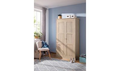 Home affaire Kleiderschrank »Clonmel«, mit Einlegeboden und Kleiderstange hinter die... kaufen