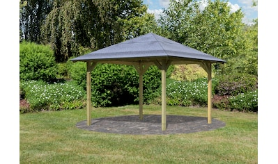 Karibu Holzpavillon »Cordoba«, BxT: 357x357 cm kaufen
