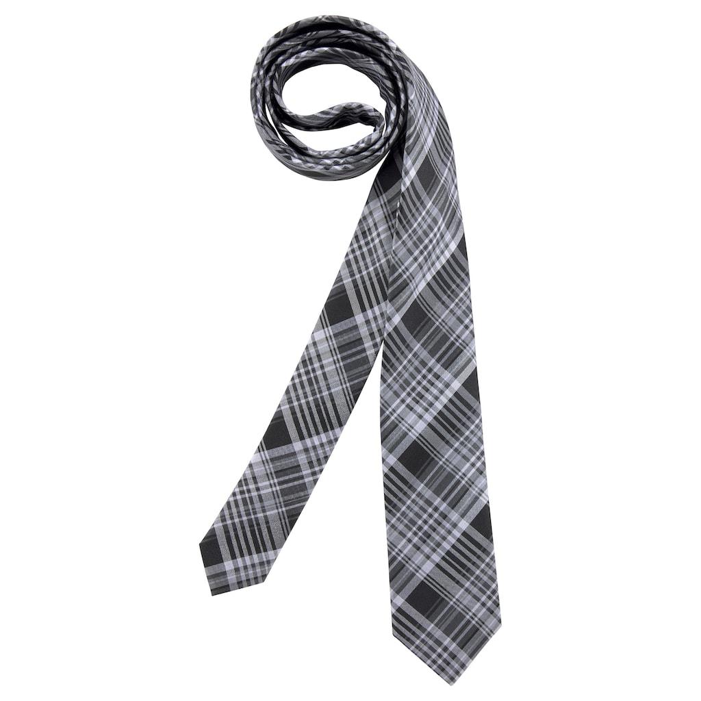 Man's World Krawatte, In 2 Längen, aus reiner Seide