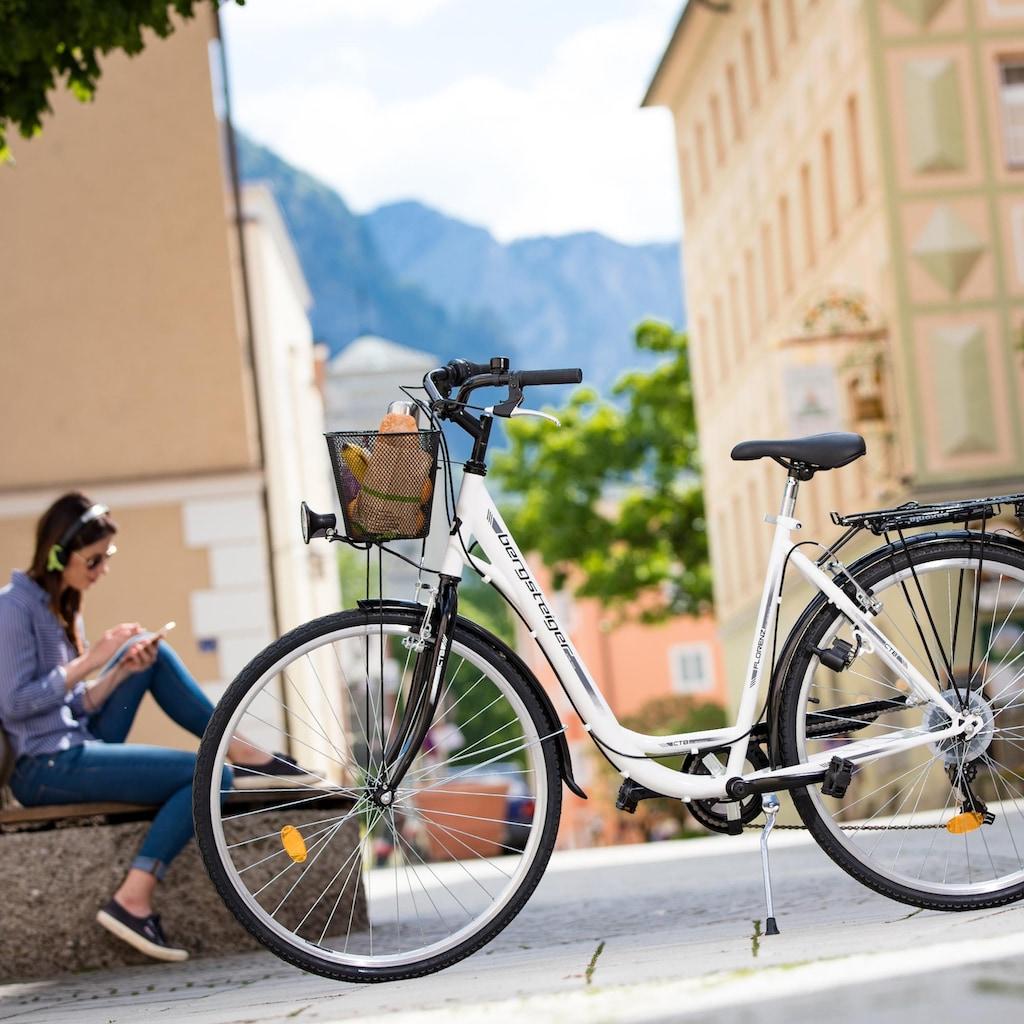 bergsteiger Cityrad »Florenz«, 7 Gang, Shimano, Tourney RD-TY21 Schaltwerk, Kettenschaltung