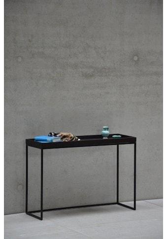jankurtz Konsolentisch »pizzo«, in verschiedenen Gestellfarben, Breite 100 cm kaufen