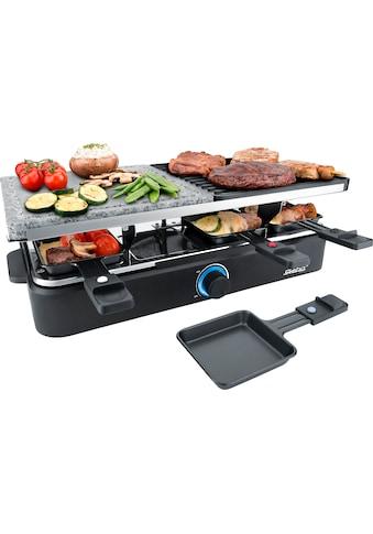 Steba Raclette RC 18, 8 Raclettepfännchen, 1400 Watt kaufen