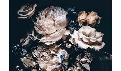 Consalnet Vliestapete »Cremefarbige Blumen«, floral kaufen