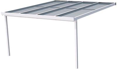 GUTTA Terrassendach »Premium«, BxT: 410x406 cm, Dach Acryl Klima blue kaufen