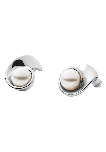 Skagen Perlenohrringe »AGNETHE, SKJ1367040«, mit Perle (synth.) kaufen
