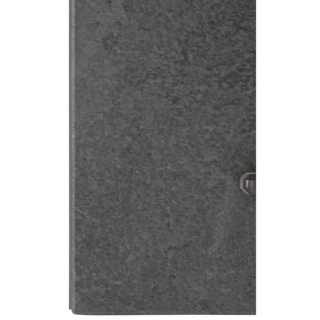 HELD MÖBEL Hängeschrank »Tulsa«, 50 cm breit, 57 cm hoch, 1 Tür, schwarzer Metallgriff, hochwertige MDF Front