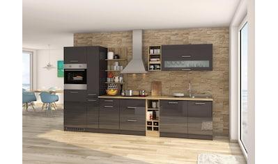 HELD MÖBEL Küchenzeile »Mailand«, mit Elektrogeräten, Breite 340 cm kaufen