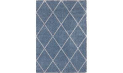 ELLE Decor Teppich »Lunel«, rechteckig, 17 mm Höhe, Hoch-Tief-Optik, Wohnzimmer kaufen