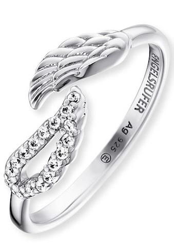 Engelsrufer Silberring »Doppel - Flügel, ERR - TWINWING - ZI« kaufen