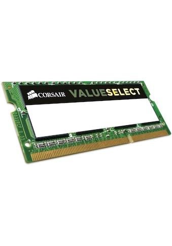 Corsair »ValueSelect 8GB DDR3L SODIMM« Laptop - Arbeitsspeicher kaufen