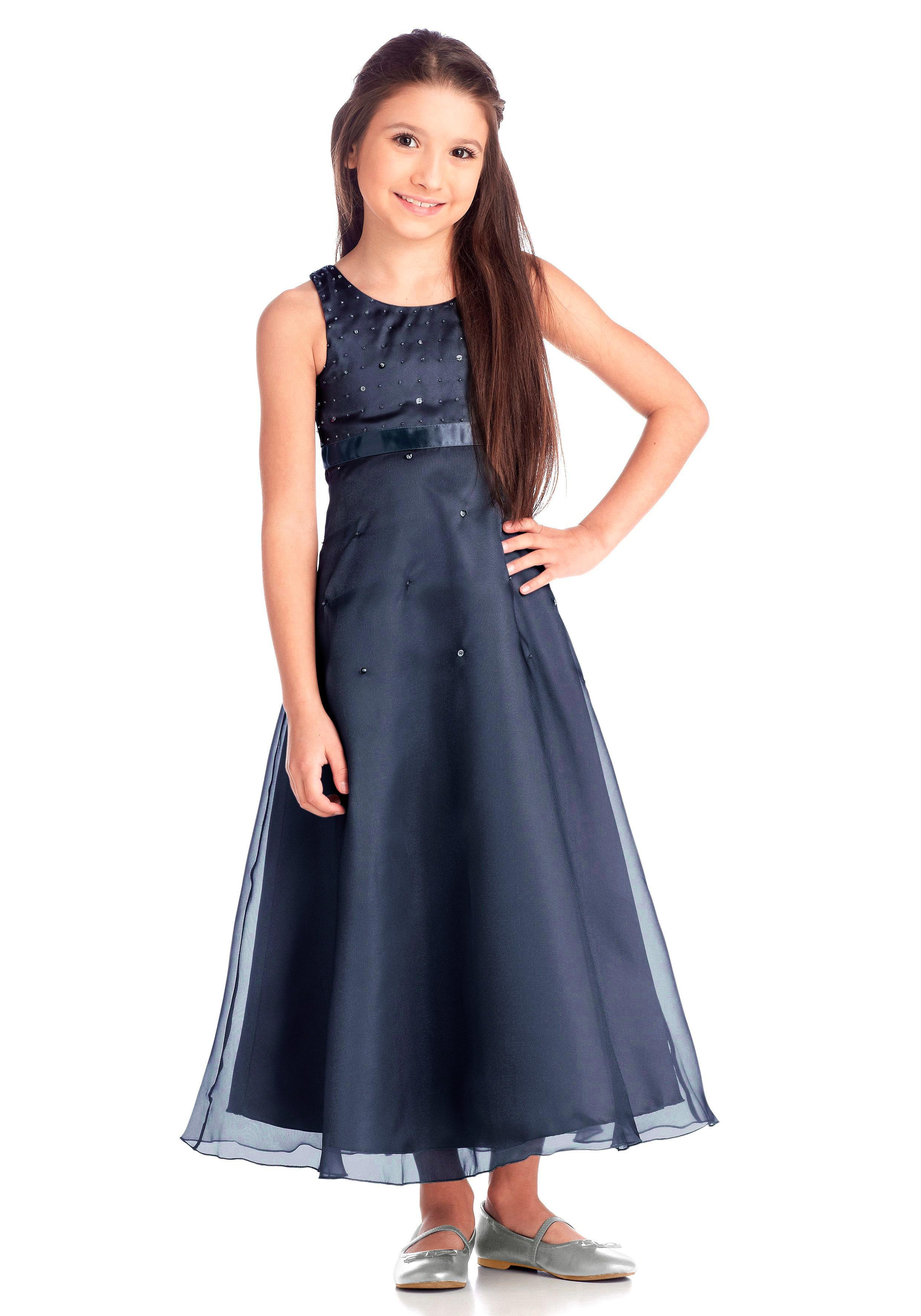 Arizona Satinkleid Kindermode/Bekleidung/Mädchenkleidung/Festliche Mode/Festliche Kleider