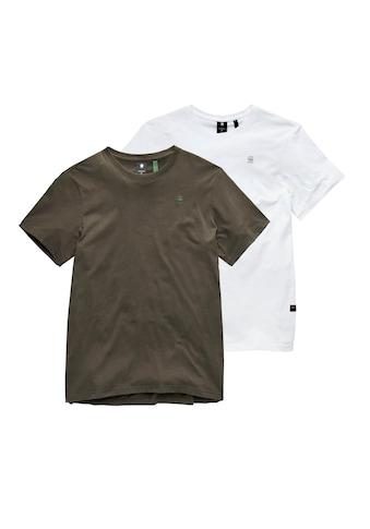 G-Star RAW Rundhalsshirt »Base-s r t 2 pack« kaufen